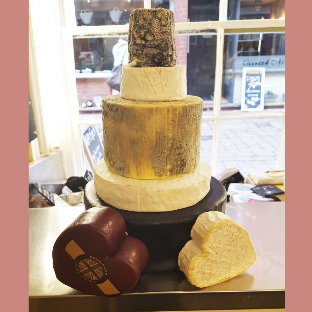 Bella Cheese wedding Cake, 6.1kg wedding cheese tower, feeds 60-120 people